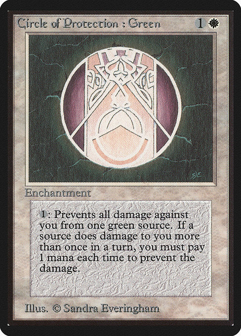 Circle of Protection: Green [Limited Edition Beta]
