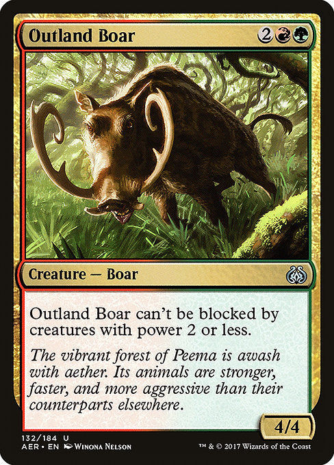 Outland Boar [Aether Revolt]