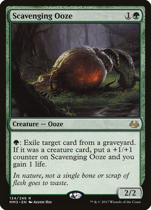 Scavenging Ooze [Modern Masters 2017]