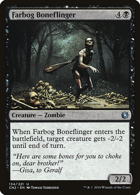 Farbog Boneflinger [Conspiracy: Take the Crown]