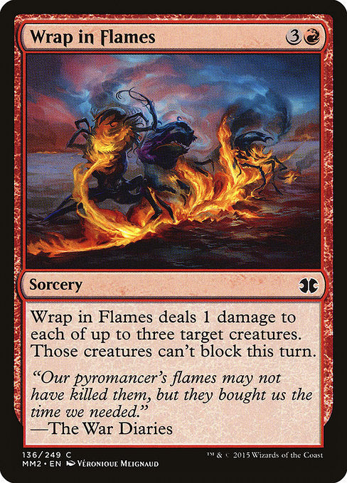 Wrap in Flames [Modern Masters 2015]