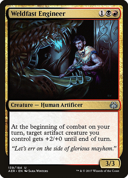 Weldfast Engineer [Aether Revolt]