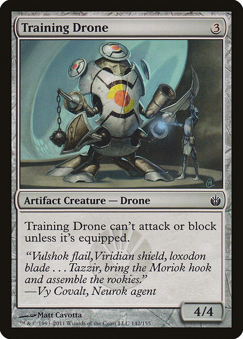 Training Drone [Mirrodin Besieged]