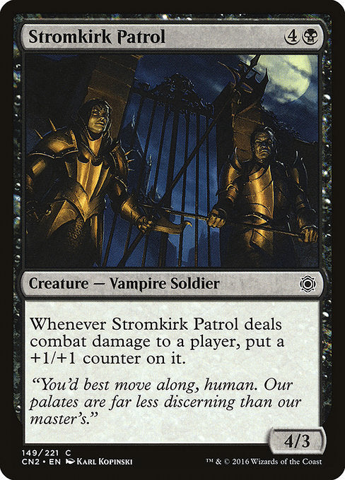 Stromkirk Patrol [Conspiracy: Take the Crown]