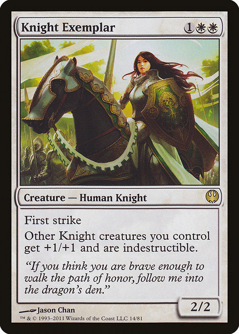 Knight Exemplar [Duel Decks: Knights vs. Dragons]