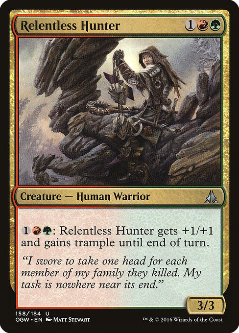 Relentless Hunter [Oath of the Gatewatch]