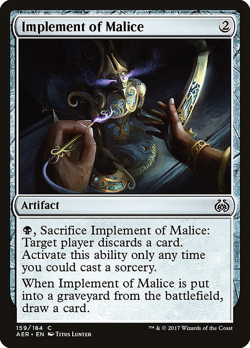 Implement of Malice [Aether Revolt]