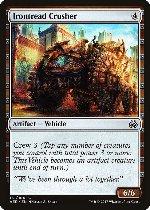 Irontread Crusher [Aether Revolt]