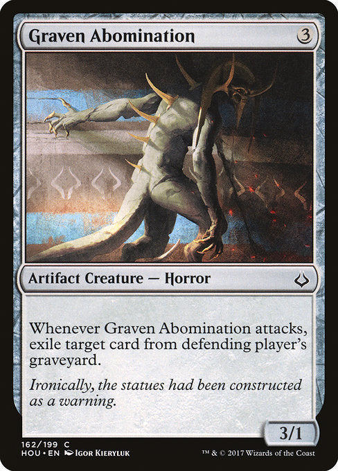 Graven Abomination [Hour of Devastation]