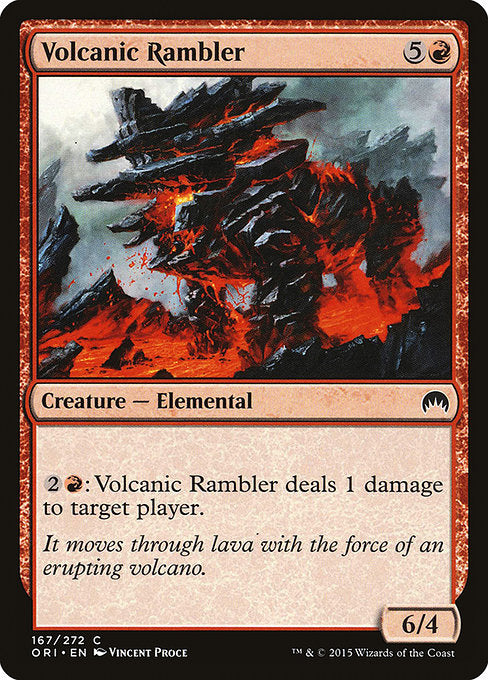 Volcanic Rambler [Magic Origins]