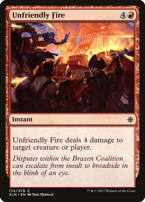 Unfriendly Fire [Ixalan]