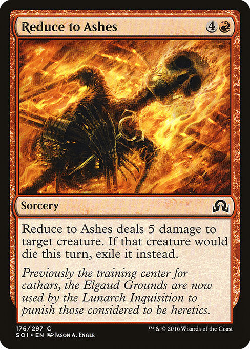 Reduce to Ashes [Shadows over Innistrad]