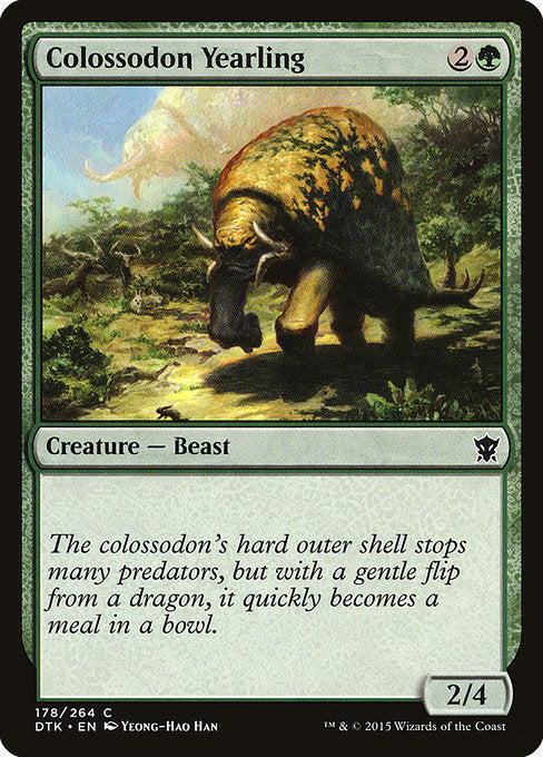 Colossodon Yearling [Dragons of Tarkir]