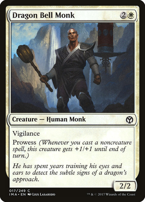 Dragon Bell Monk [Iconic Masters]