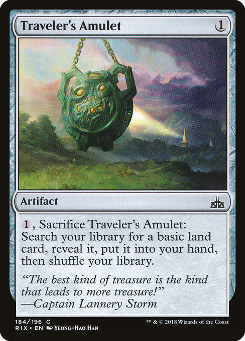 Traveler's Amulet [Rivals of Ixalan]