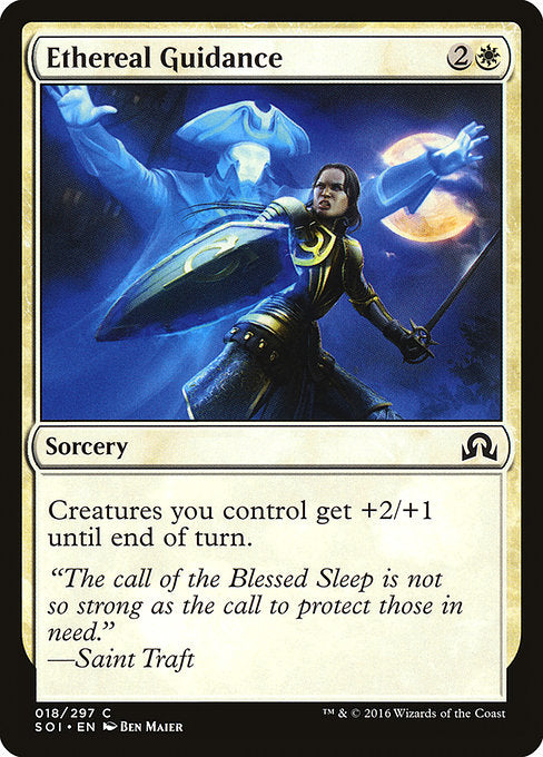 Ethereal Guidance [Shadows over Innistrad]