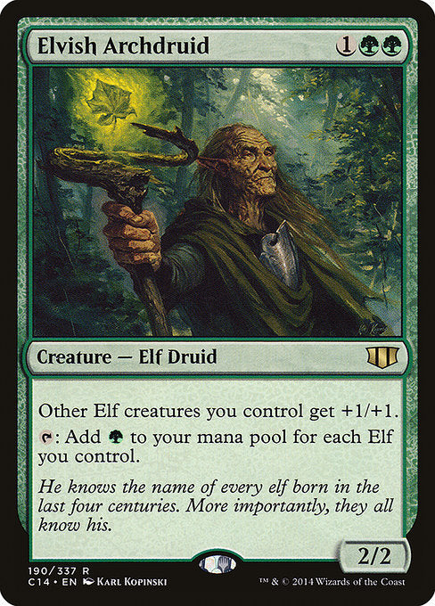 Elvish Archdruid [Commander 2014]