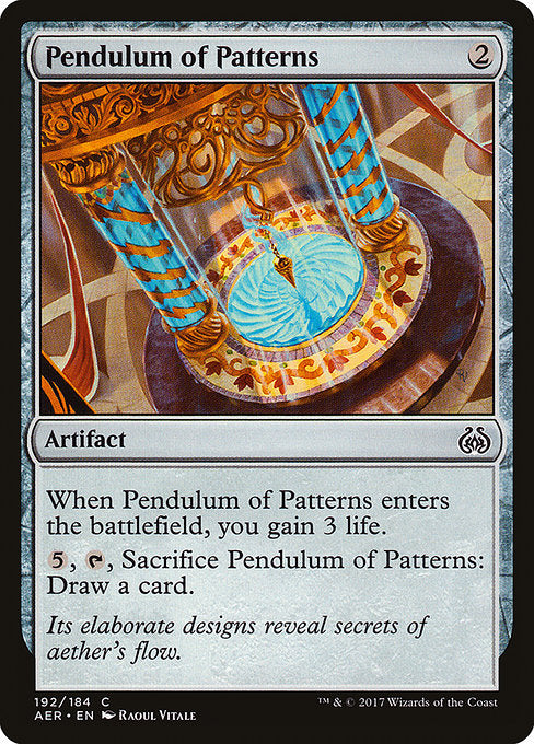 Pendulum of Patterns [Aether Revolt]