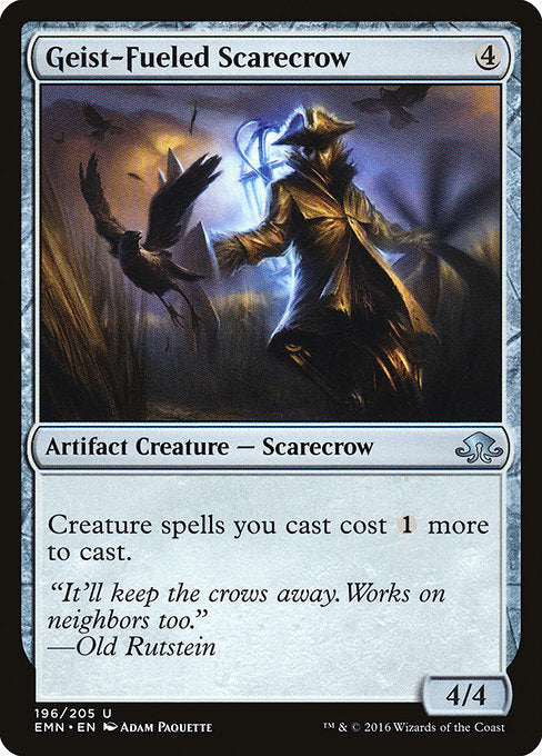 Geist-Fueled Scarecrow [Eldritch Moon]