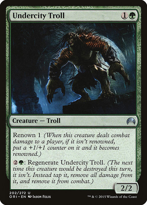 Undercity Troll [Magic Origins]