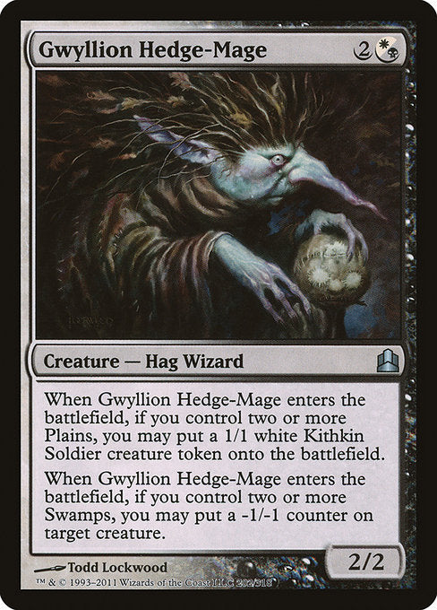 Gwyllion Hedge-Mage [Commander 2011]