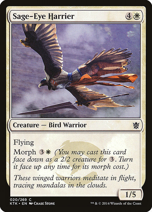 Sage-Eye Harrier [Khans of Tarkir]