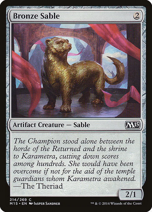 Bronze Sable [Magic 2015]