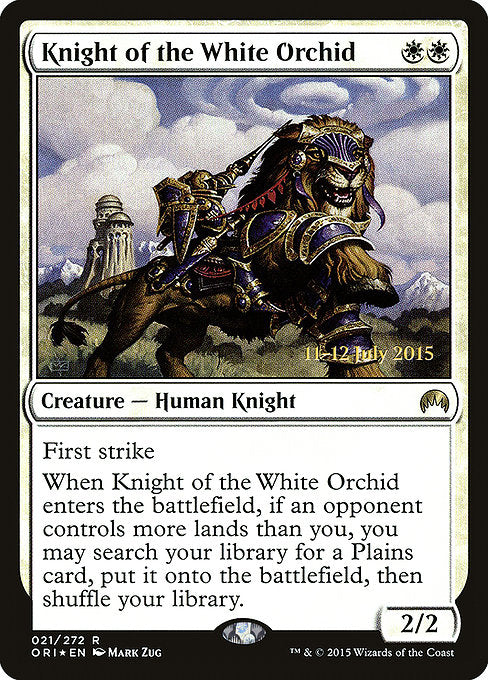 Knight of the White Orchid [Magic Origins Promos]