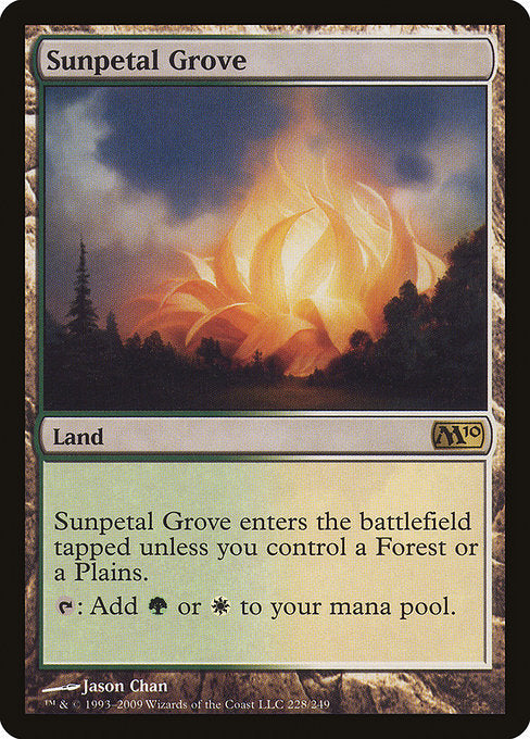 Sunpetal Grove [Magic 2010]