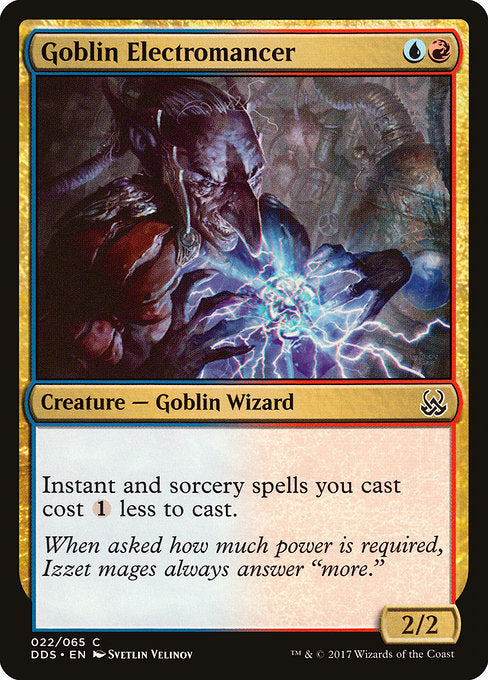 Goblin Electromancer [Duel Decks: Mind vs. Might]