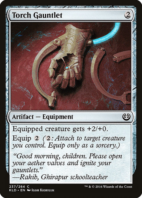 Torch Gauntlet [Kaladesh]