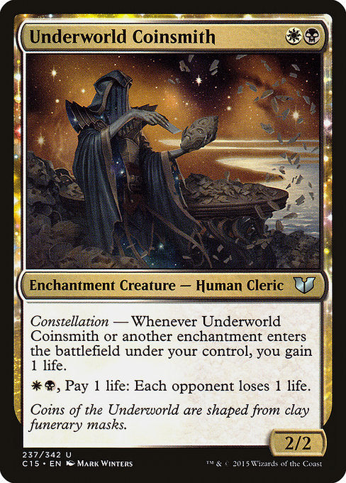 Underworld Coinsmith [Commander 2015]