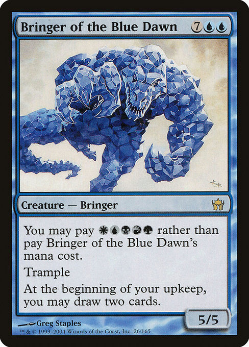 Bringer of the Blue Dawn [Fifth Dawn]