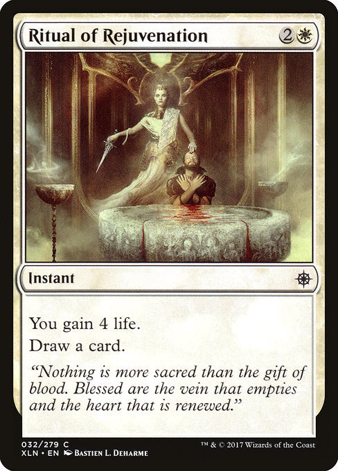 Ritual of Rejuvenation [Ixalan]