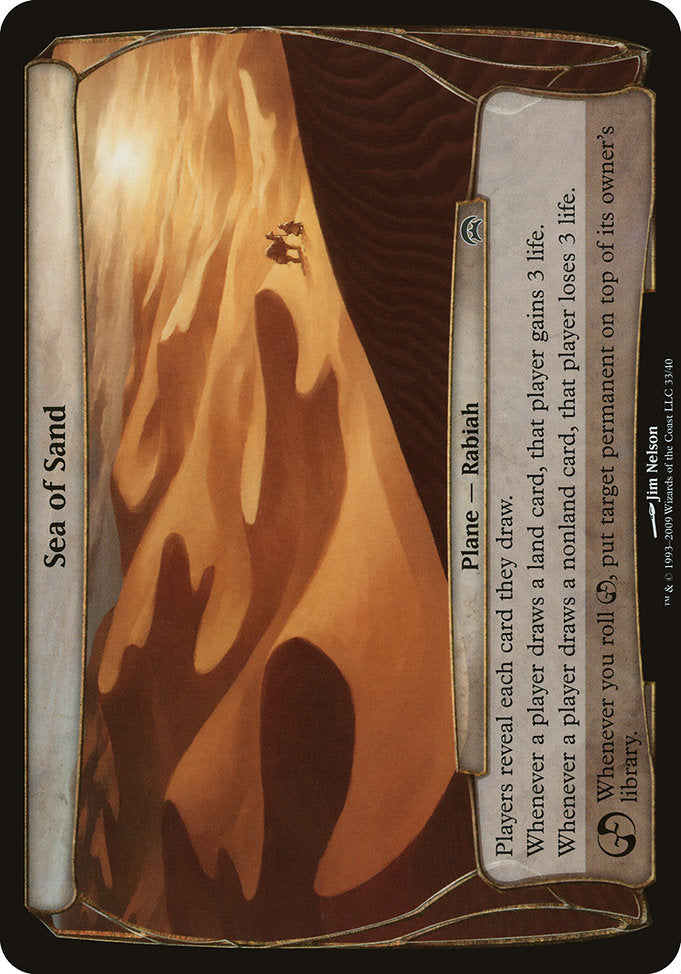 Sea of Sand [Planechase]
