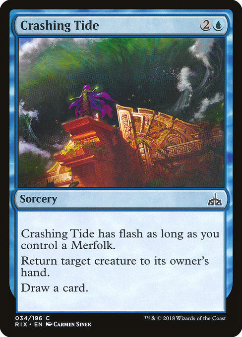 Crashing Tide [Rivais de Ixalan]
