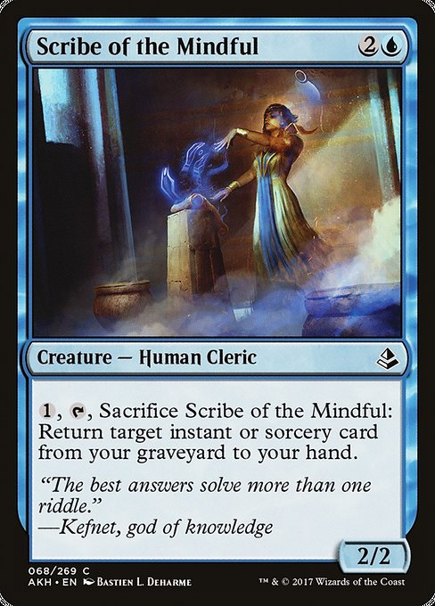 Scribe of the Mindful [Amonkhet]