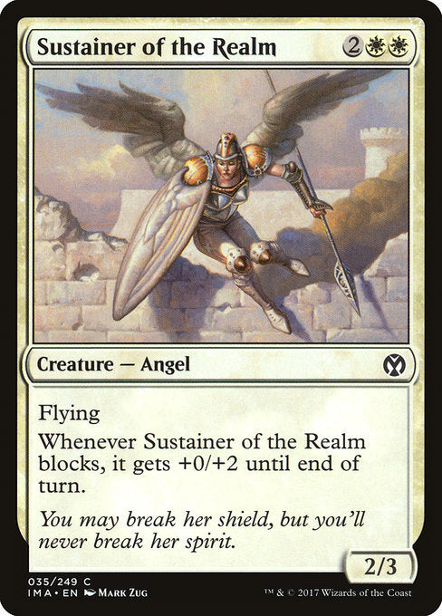 Sustainer of the Realm [Iconic Masters]