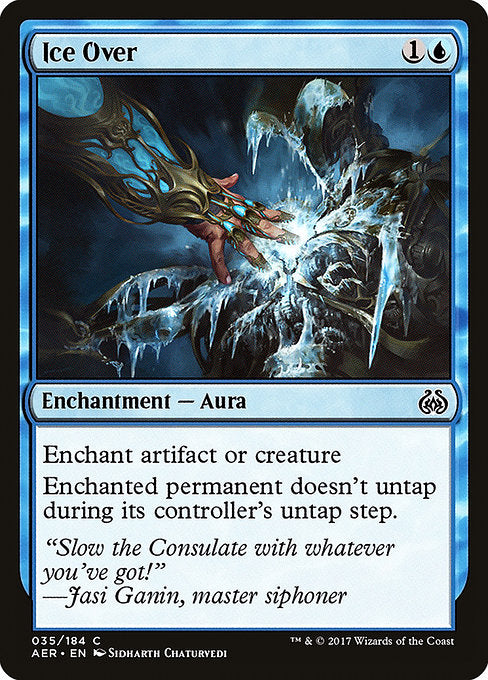 Ice Over [Aether Revolt]