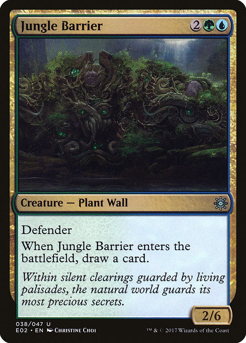 Jungle Barrier [Explorers of Ixalan]