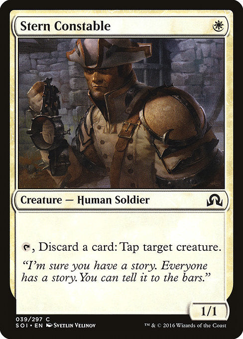 Stern Constable [Shadows over Innistrad]
