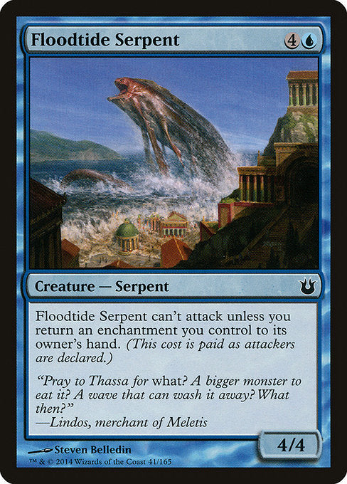 Floodtide Serpent [Born of the Gods]