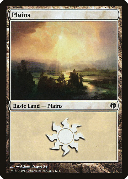 Plains [Duel Decks: Heroes vs. Monsters]