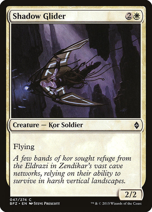 Shadow Glider [Battle for Zendikar]