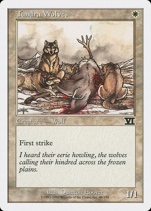 Tundra Wolves [Classic Sixth Edition]