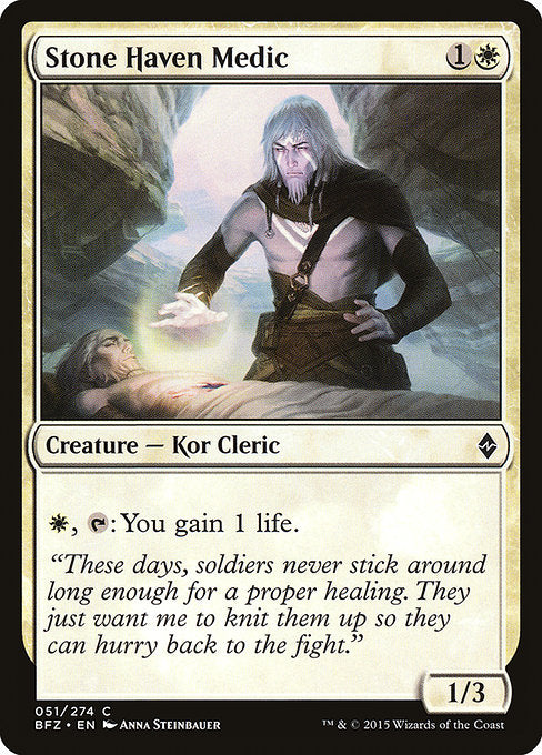 Stone Haven Medic [Battle for Zendikar]