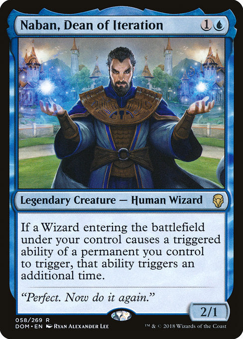 Naban, Dean of Iteration [Dominaria]