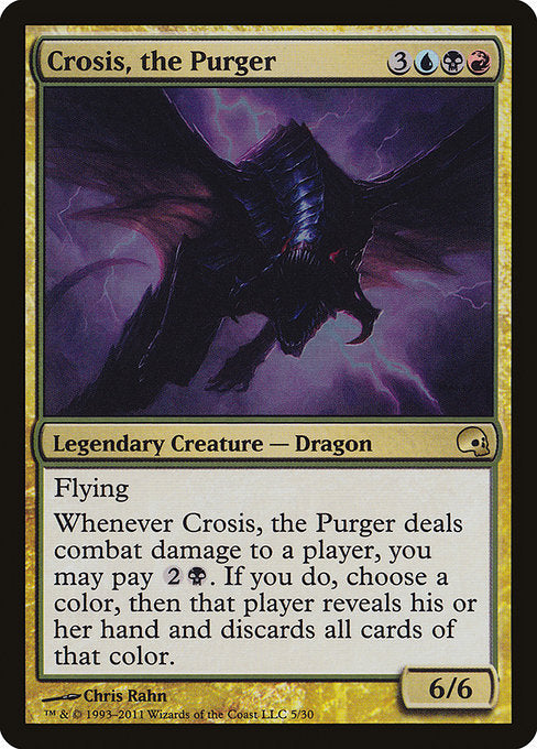 Crosis, the Purger [Premium Deck Series: Graveborn]