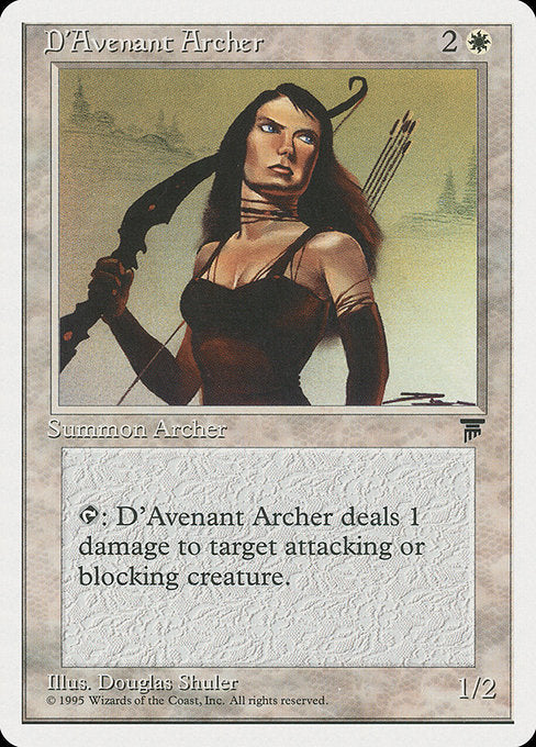 D'Avenant Archer [Chronicles]