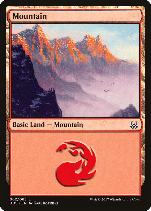 Mountain [Duel Decks: Mind vs. Might]